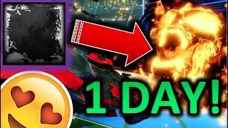 *WOW* TRADING HEATWAVE to HELLFIRE in 1 DAY!!!!!!! [Rocket League HD : Episode 45]