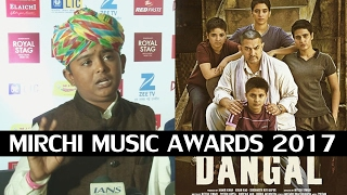 HANIKARAK BAPU Song Fame Sarwar Khan At  Mirchi Music Awards 2017