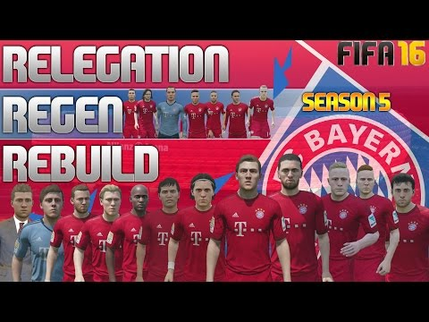 FIFA 16 Bayern Munich Career Mode - RRR - SEASON 5 SIM