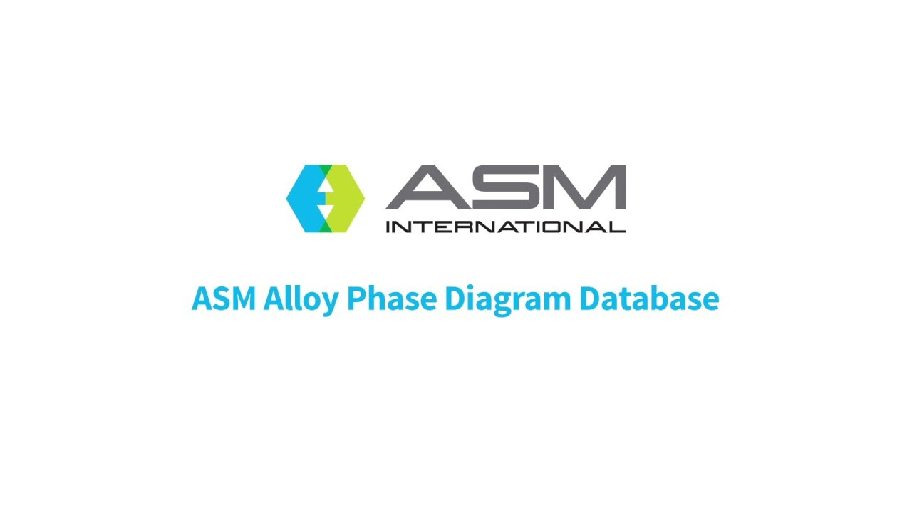 asm phase diagram 1964 ford 4000 tractor wiring the alloy database walk through youtube