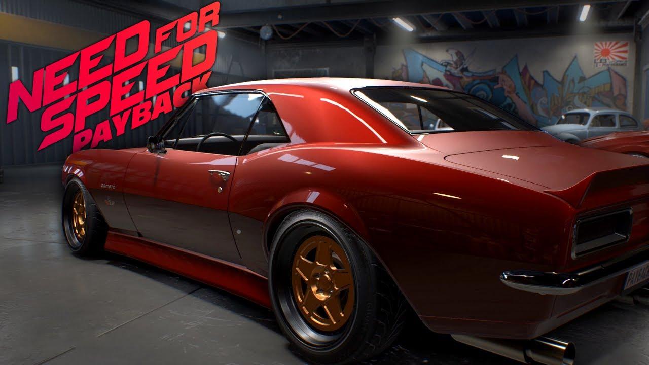 Need For Speed Payback Camaro Ss Customization Gameplay