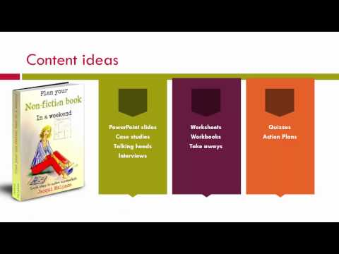 Profit from your knowledge - turn your book into a course