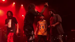 15 - Down Bad - Revenge of the Dreamers III  - J.I.D & Bas (Over Time: Dreamville NC 2/17/19)