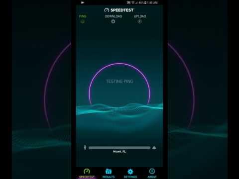 Fastest LTE connection ever!!!!Verizon 5GHZ LTE speed test