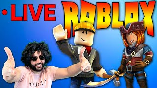Roblox LIVESTREAM | Robux GIVEAWAY soon! | Playing Roblox with my SUBSCRIBERS!