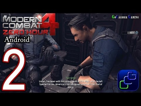Modern Combat 4: Zero Hour Android Walkthrough - Part 2 - Mission 2: Unified Terror