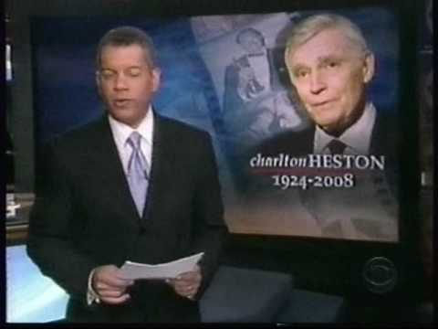 The Death of Charlton Heston  April, 2008  part 1 of 2