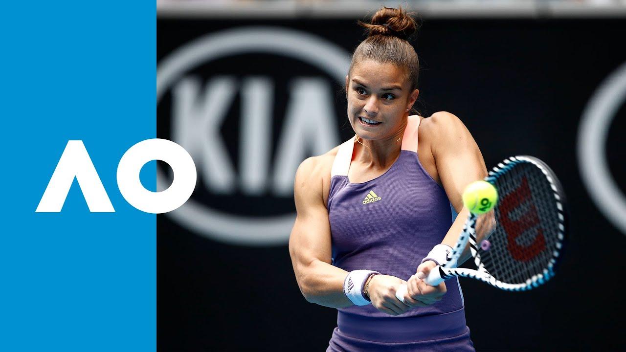 Madison Keys vs Maria Sakkari - Match Highlights (3R) | Australian Open 2020