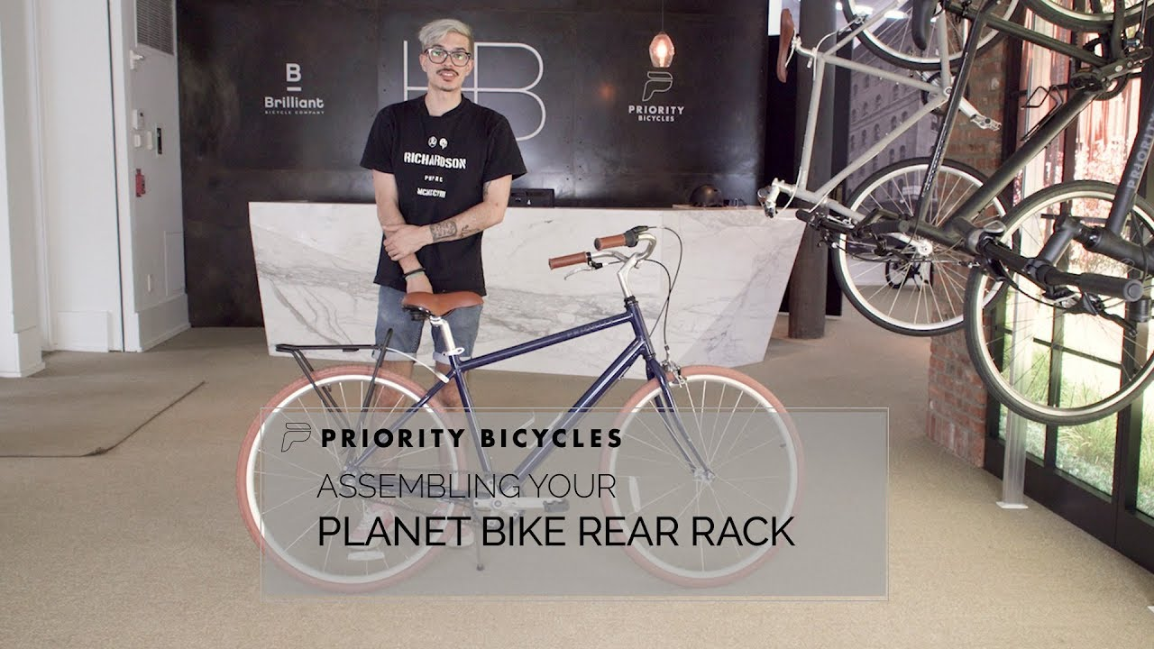 5ae8d1f2709 ASSEMBLING YOUR PLANET BIKE RACK. Priority Bicycles