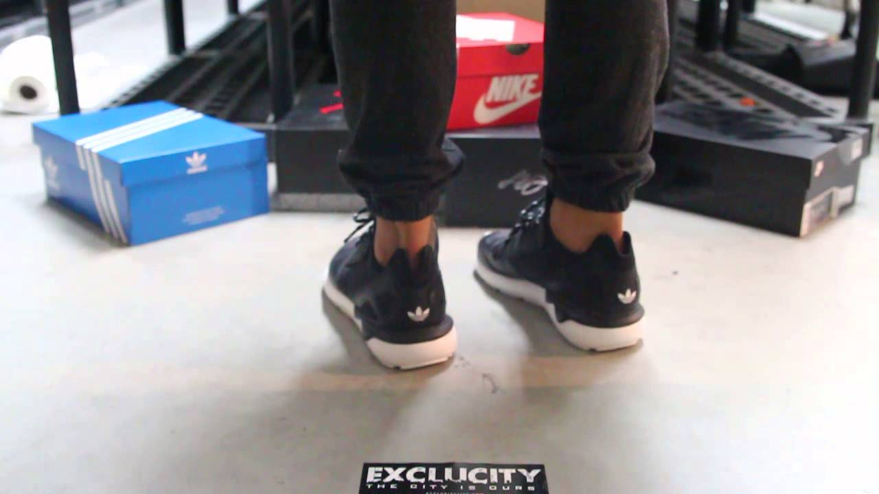 wholesale dealer 3ec59 612a5 Adidas Tubular Runner On-Feet Video at Exclucity