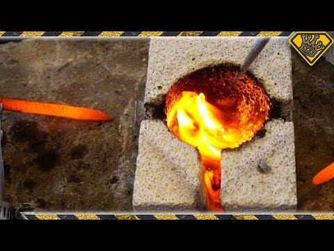 Melting Marbles With Electricity