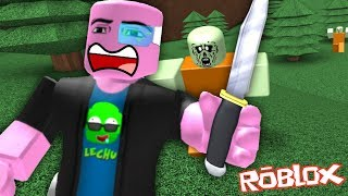 Roblox Funny Moments: NOOBS vs RUSH OF ZOMBIES BRUTOS & MINIGAME OF DRAGON BALL Z! (with Friends)
