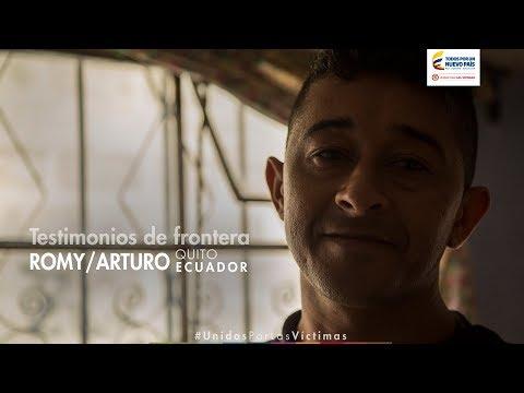 Testimonio de Frontera, Romy y Arturo. Quito, ECUADOR