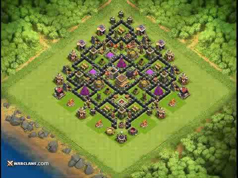 Base Coc Th 8 Kuat 5