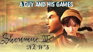 Shenmue 3: News - Game Will Be Double The Size Of Previous Games.