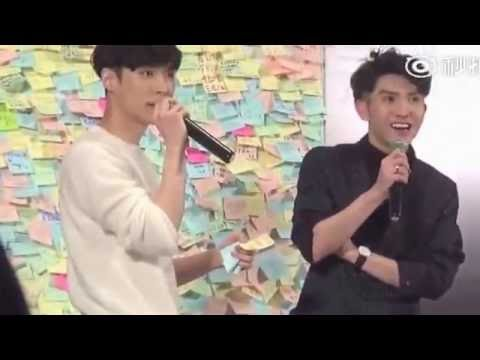[Eng Sub] 161117 Beijing Fansign Lose Control: Talk Part 2