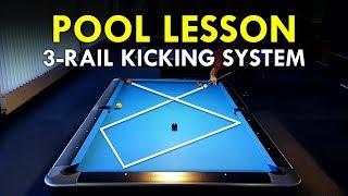 Pool Lesson | Great 3 Rail Diamond Kicking System