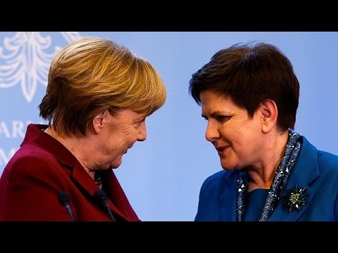 Unité de façade entre Berlin et Varsovie sur l'UE