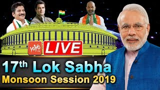 Lok Sabha LIVE 2019 Monsoon Session   PM Modi Parliament LIVE   Rahul Gandhi LIVE   YOYO TV Channel