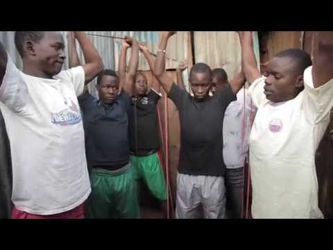 Community Strength Resistance Band Project In Kibera, Kenya (Largest Slum in East Africa)