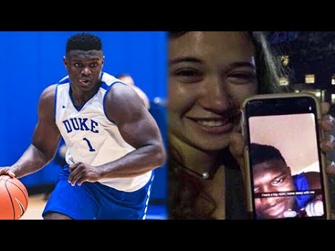 Girl Tries to Expose Zion Williamson... It Does Not Go Well