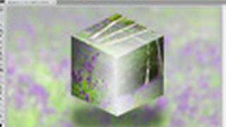 3D cube with photos from scratch in Photoshop - Week 49