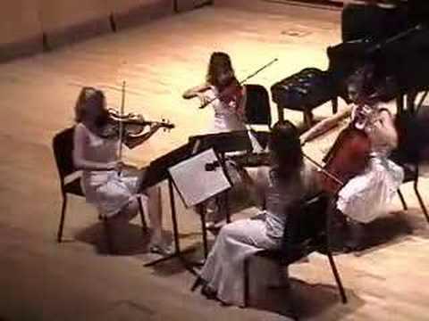 "Dvorák ""American"" Quartet, 1st Movement"