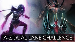Dota 2 A-Z Dual Lane Challenge - Templar Assassin and Terrorblade