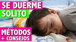 Métodos para enseñar a dormir a un bebé solito toda la noche