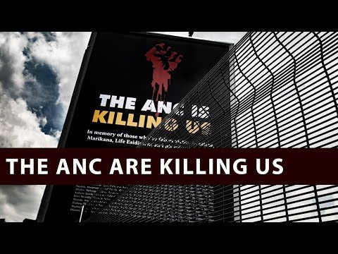 DA: The ANC is killing us