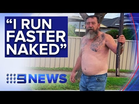 The Woody Show - Australian Guy Grabs His Didgeridoo and Chases an Intruder in His Underwear