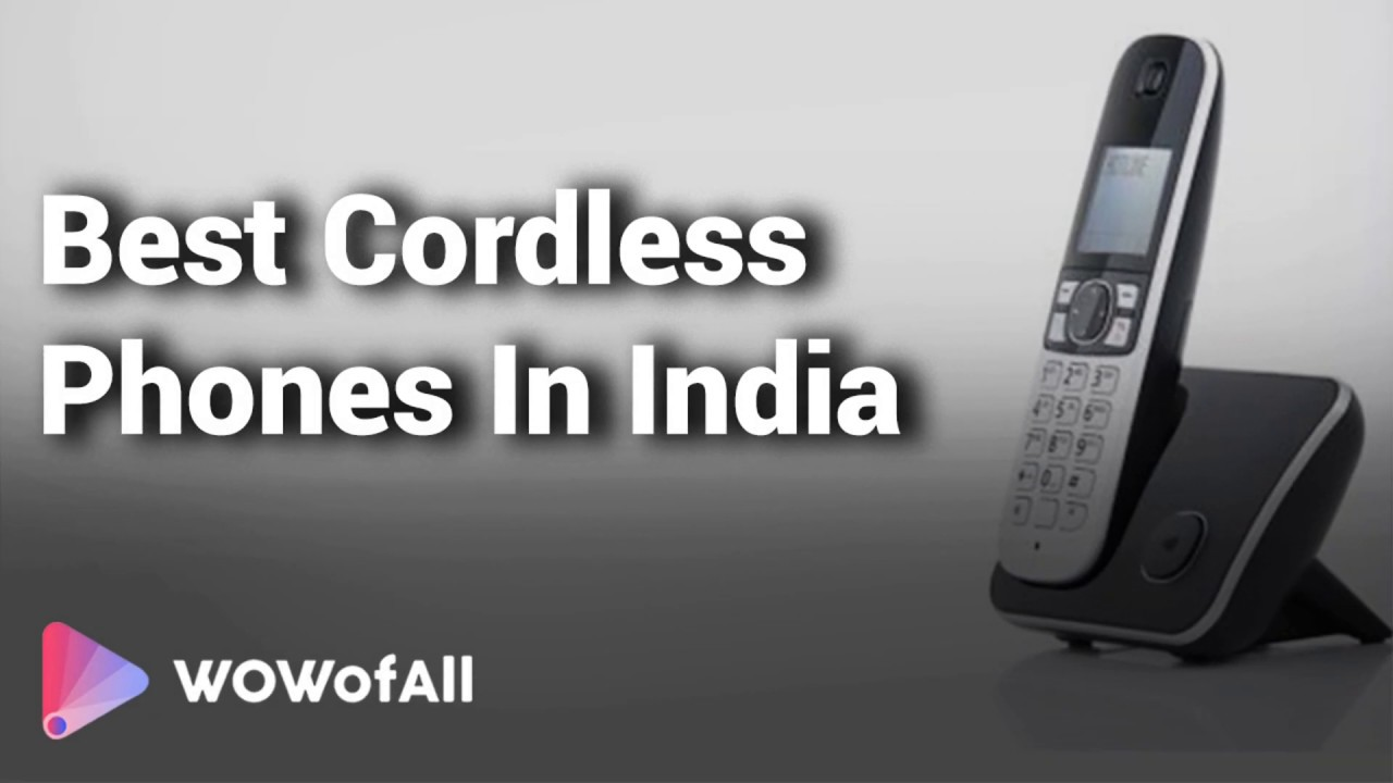 9fc86463e 6 Best Cordless Phones in India with Price 2019 - YouTube