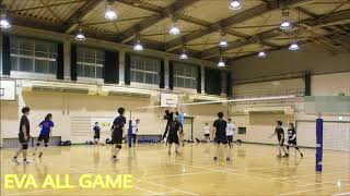 【バレーボール】EVA All#7-6【END】No commentary Volleyball JAPAN TOKYO 東京サークル チーム