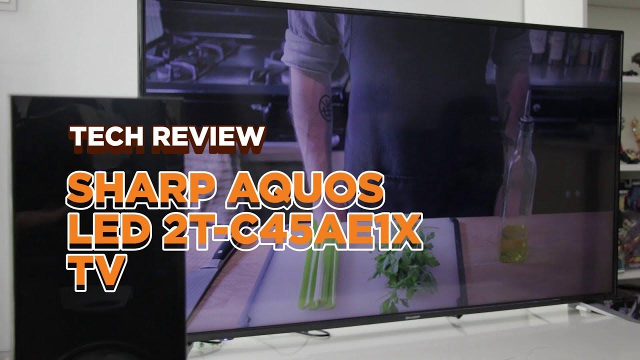Sharp Aquos LED TV, mudah melayari Internet?