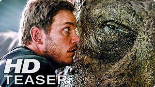 JURASSIC WORLD 2 Teaser Trailer 1 & 2 German Deutsch (2018)