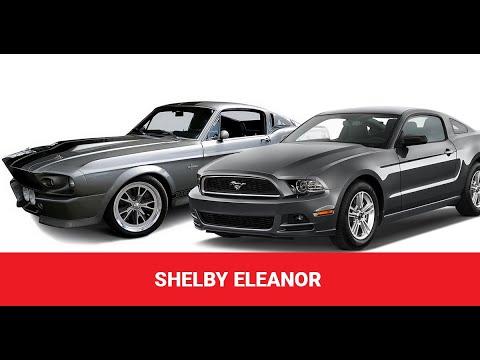 Спецпроект от Nanoprotec - Shelby Eleanor 1967 из Shelby GT350 2018 (Серия 1)