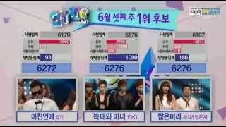 "130616 WIN: EXO ""WOLF"" #1 on Inkigayo Thumbnail"