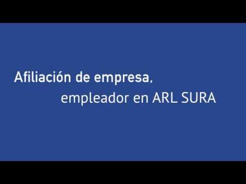 Afiliación de empresa a ARL SURA