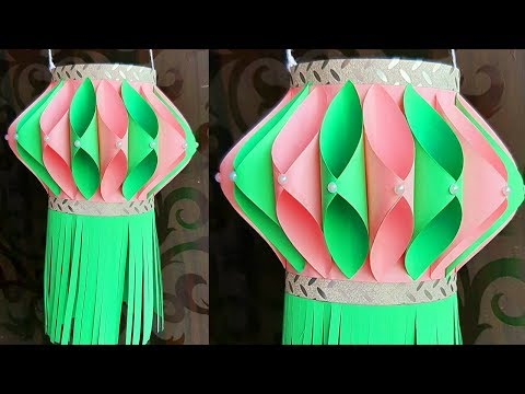 DIY Paper Lantern | Akash Kandil | Diwali Paper Decoration idea