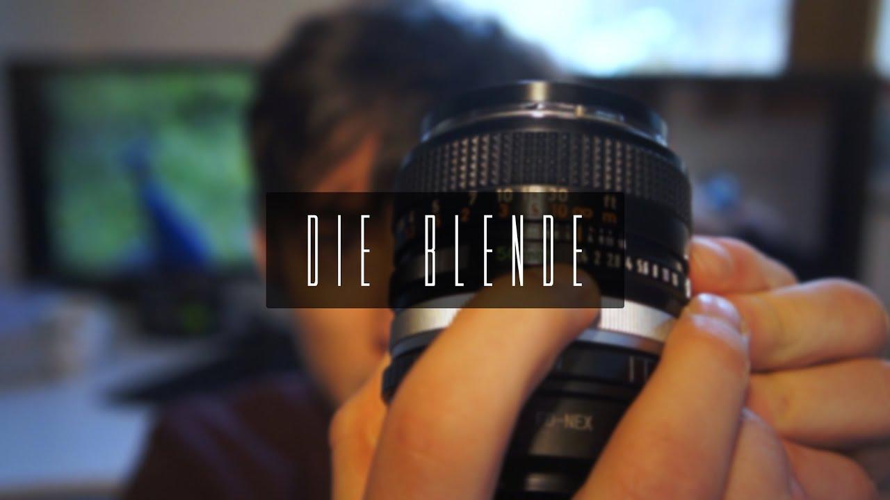 Die Blende | Foto & Video Grundlagen