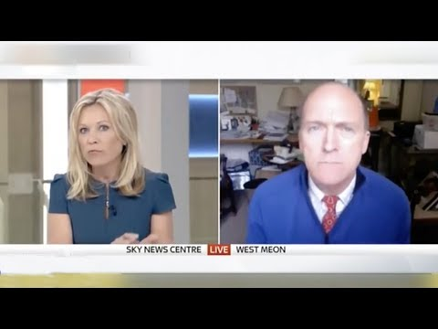 Sky News cuts off former UK army officer after he casts doubt on gas attack