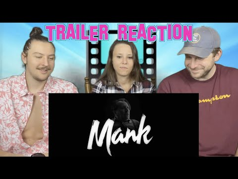 Mank Trailer REACTION #Mank #Netflix #Oscars
