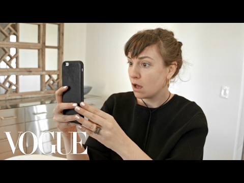 Lena Dunham Test Drives the Brow Microblading Trend  Vogue