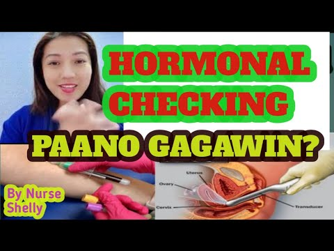 BLOOD TEST And ULTRASOUND For HORMONE CHECKING