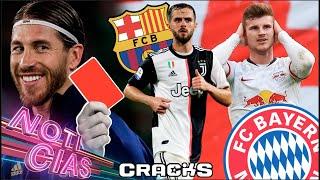 MARCELO justifica ROJAS de RAMOS | ¡TIMO dice NO al BAYERN! | RUMOR: Barça quiere a PJANIC