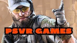 PSVR Games This week ( PS VR Games 2018 ) 🎮