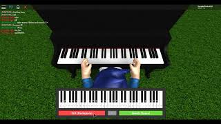 how to play piano alone by alan walker ROBLOX