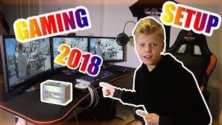 Dansk - MIT GAMING SETUP 2018 + GIVEAWAY!!!