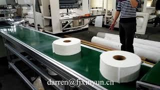 Full automatic JRT toilet paper production line