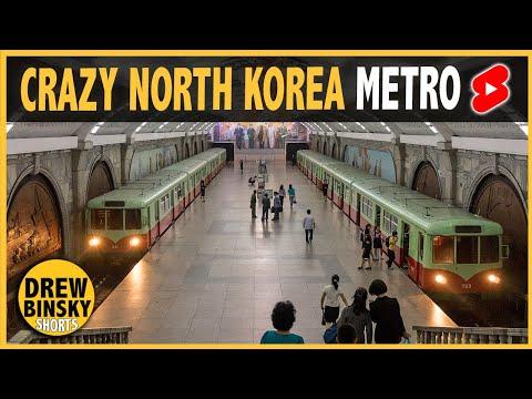 NORTH KOREA'S METRO IS INSANE